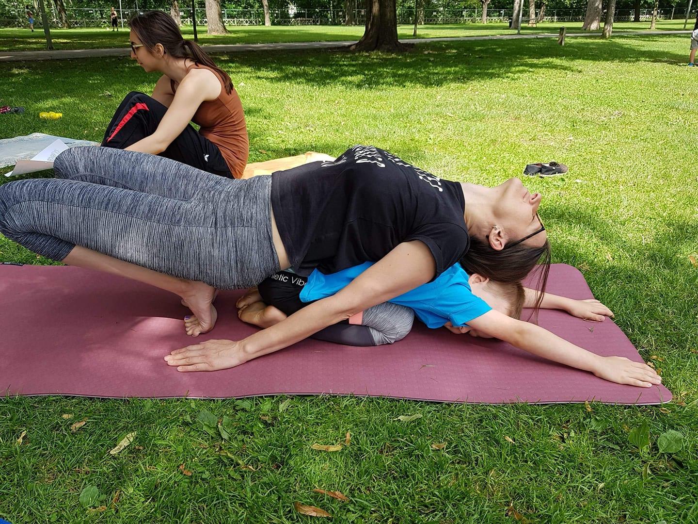 Minyo Yoga Bewegt im Park 2018
