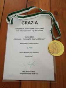 Minyo Yoga Grazia Ehrenpreis 2018